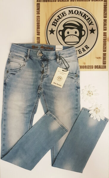 Blue Monkey Jeans Manie 04 Blau Slim Fit