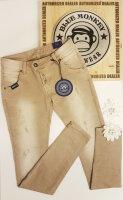 Blue Monkey Jeans Manie 8007 Beige Skinny