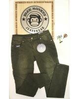 Blue Monkey Jeans Lesley 1640 Khaki Skinny
