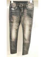 Blue Monkey Jeans Paige 3816 Dunkelgrau Skinny