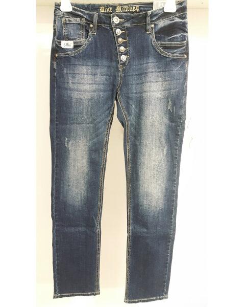 Blue Monkey Jeans Jane 5119 Blau Slim (Laenge 34)