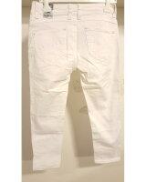 Blue Monkey Jeans Weiß / Capris