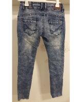 Blue Monkey Jeans Anny 1830  Blau Cropped Skinny