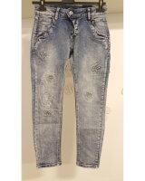 Blue Monkey Jeans Manie 1906  7/8 Skinny Sterne