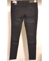 Blue Monkey Jeans Manie 7238 (Laenge 32) dunkelblau Glitzerstreifen