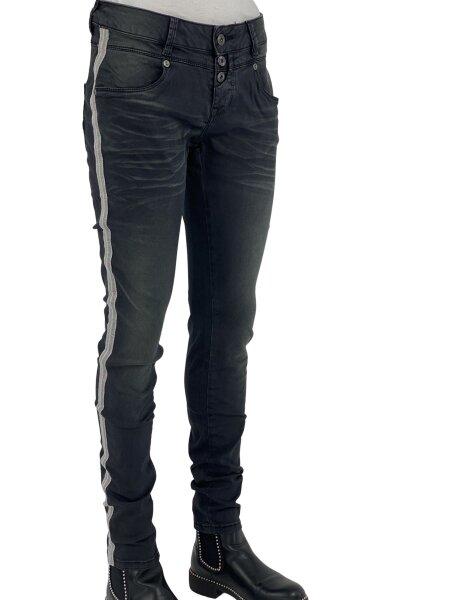 Blue Monkey Jeans Candy 10083 (Laenge 32) skinny schwarz