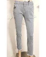 Blue Monkey Jeans Honey 10178 Cropped Skinny gestreift