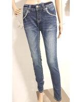 Blue Monkey Jeans LUCY 30025 Luxury Denim dicke Nähte