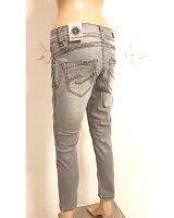 Blue Monkey Jeans STACY  30041 grau dicke Nähte