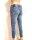 Blue Monkey Jeans Laura 10205  roter seitlicher Streifen