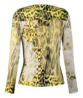 MISSY  Jacke Glitzer Print-Look Gelb
