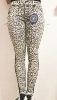 Blue Monkey Jeans Laura 7307 Animal Print Skinny