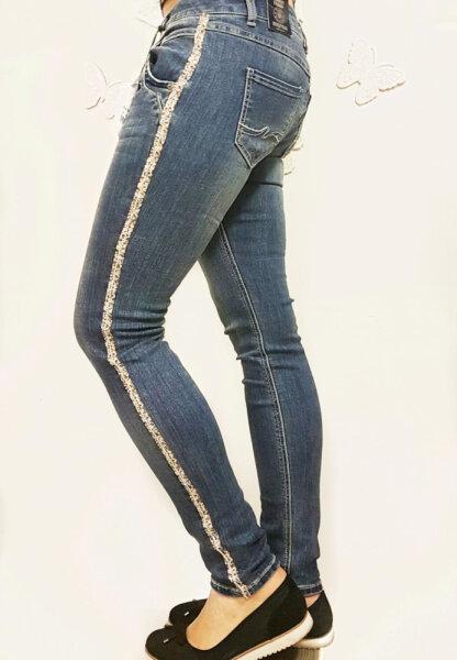 Blue Monkey Jeans Manie 10333  blau skinny