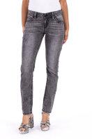 Blue Monkey Jeans Luci 30123 Slim Fit Kontrastnaht grau