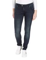 Blue Monkey Jeans Manie 10371 Skinny blauer Seitenstreifen