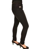 Blue Monkey Jeans Laura 30086  schwarz Glitzerstreifen
