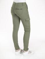 Blue Monkey Jeans Cargo Luisa 30154 Skinny Khaki
