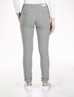 Blue Monkey Jeans Chino Skinny Checkered Blue Sidestripe