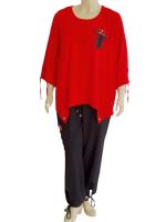 Legere Kombi bestehend aus Shirt und Hose mit vielen...