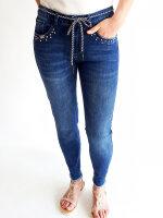 Blue Monkey Jeans Finja 10461 cropped Boyfriend