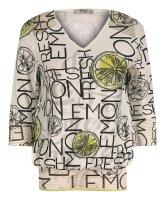 MISSY Shirt Glitzer LEMON