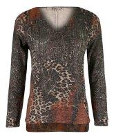 MISSY Shirt  Glitzer  Animal Print