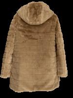 Stylische Wendejacke Camel Stepp Teddy