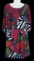 Stylisches Kleid mit Grafikmuster