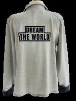 Trendiger Sweatblazer DREAM THE WORLD mit tollen Details