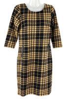 Stilsicheres Kleid im angesagten Hahnentritt Muster