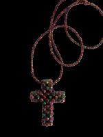 Stylische Kette gefertigt aus Swarovski-Steinen mit...