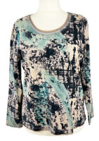 Via Appia Shirt in Camouflage- und Used Look