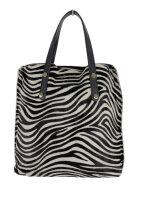 Stylische Zebra Tasche - ein echter Hingucker