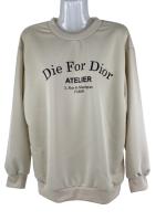 DIE FOR DIOR  Sweatshirt mit modischem Aufdruck