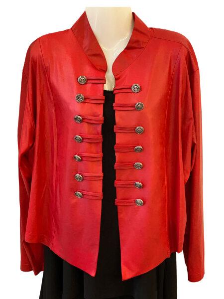 Originelle Jacke in Rot